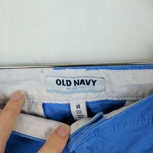 Old Navy Shorts - Old Navy Blue Chino Shorts